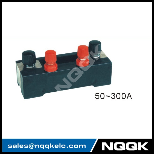 50A - 300A Voltmeter Ammeter Electric welding machine Dc current shunt resistor