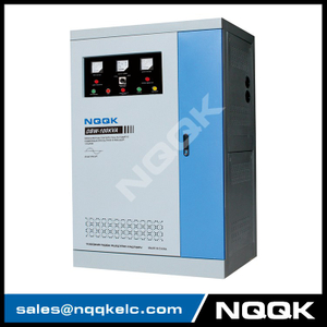 DBW 80KVA / 100KVA / 120KVA Full-Automatic Compensated 1Phase Series voltage stabilizer voltage regulator
