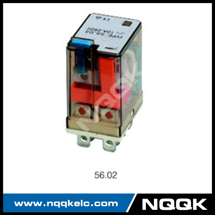 56.02 56.04 various relay LED test button general purpose relay with 2Z, 4Z contact forms