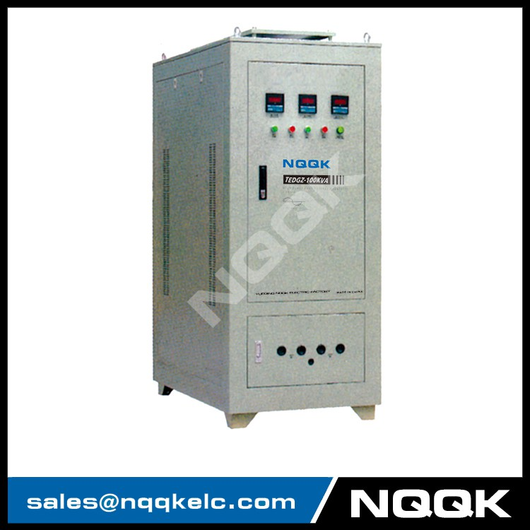 TEDGZ 16KVA 125KVA High Power Post Type 1Phase Voltage Regulator
