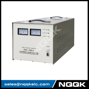 SVC 7.5KVA / 10KVA (Desk Type No.1) Servo Type 1Phase Series Voltage Stabilizer Regulator
