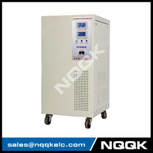 AVR 7.5KVA / 10KVA (Vertical Type) Servo Type 1Phase Series Voltage Regulator Voltage Stabilizer