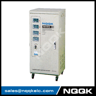 TNS 9KVA Servo Type 3Phase Series Voltage Regulator Voltage Stabilizer