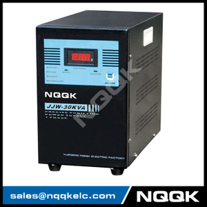 JJW 30KVA Precision Purified 1Phase Series Voltage Stabilizer Regulator