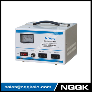 SVC 0.5KVA Servo Type 1Phase Series Voltage Regulator Voltage Stabilizer