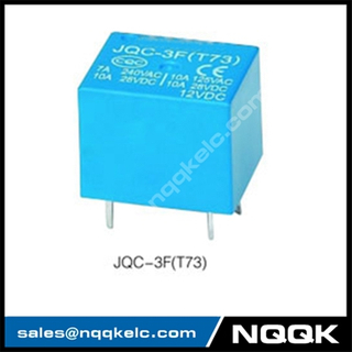 JQC-3F 1H 1Z 48VDC 12A Sliver Alloy PCB relay