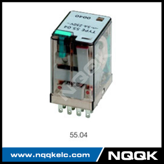 55.02 55.04 various relay LED test button general purpose relay with 2Z, 4Z contact forms
