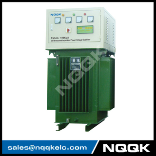 TNSJA 10KVA to 100KVA Oil Immersed Induction Stabilizer 3Phases Series voltage stabilizer regulator