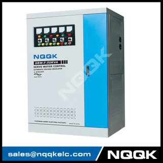 SBW-F 10KVA / 15KVA / 20KVA / 30KVA / 50KVA Split-Phase Regulating Full-Autpmatic Compensated 3Phase Series voltage regulator stabilizer