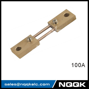 100A India type Voltmeter Ammeter DC current Manganin shunt resistor