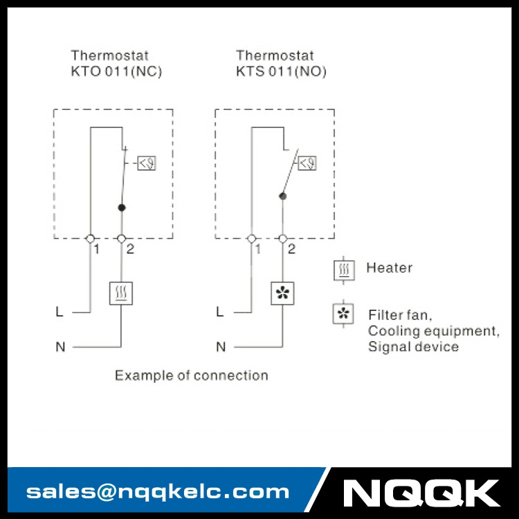 KTO 011 / KTS 011 small, compact thermostat