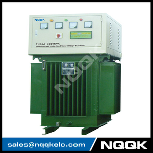 TNSJA 2500KVA to 3600KVA Oil Immersed Induction Stabilizer 3Phases Series voltage stabilizer regulator