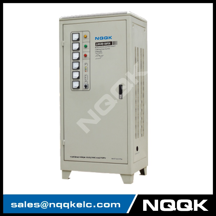 SJW-WB 80KVA / 100KVA / 120KVA Micro-controlled Non-contact Compensation 3Phase Series voltage regulator stabilizer