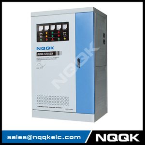SBW 80kva 100kav 120kva Full-Automatic Compensated 3Phase Series voltage stabilizer voltage regulator