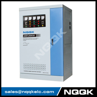 SBW 150kva 180kav 200kva Full-Automatic Compensated 3Phase Series voltage stabilizer voltage regulator