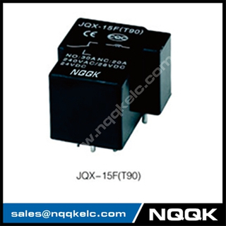 JQX-15F(T90) 30A SPST SPDT PCB 240VAC Sliver Alloy PCB relay