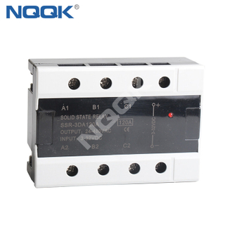 SSR-3DA120A 120A 32DC To 480VAC 3 Three Phase SSR Solid State Relay
