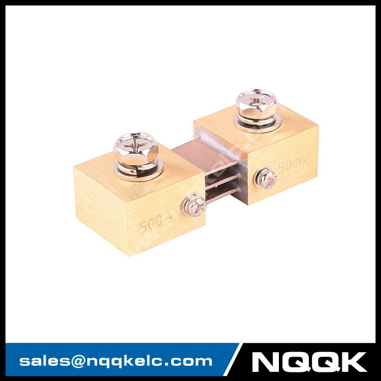 1 FL-CR nqqk nqqkelc 500A 50mV DC Electric current Shunt Resistors.JPG