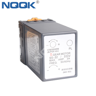 SS-32 Small 220V Geared Motor Speed Controller Single-phase AC motor governor