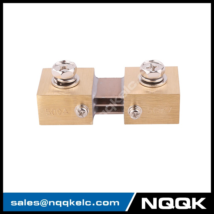 2 FL-CR nqqk nqqkelc 500A 50mV DC Electric current Shunt Resistors.JPG