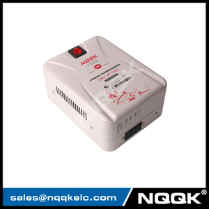 Input 110VAC -240VAC Output 110V or 220V 2000W power transformer for 110V to 220V