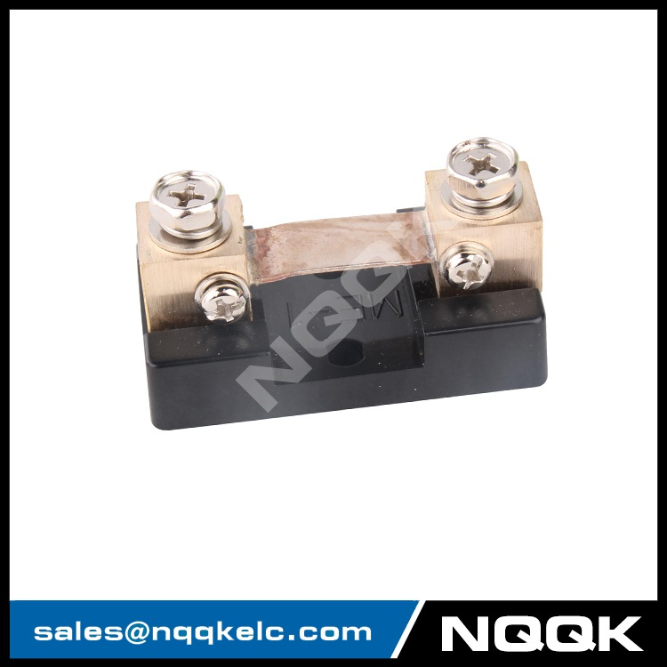 USA type 50A 75mV DC current Manganin shunt resistor for Voltmeter Ammeter