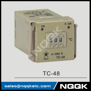 TC-48 48mm K J PT100 NO OFF Industrial Temperature Controller for plastic rubber packing machinery