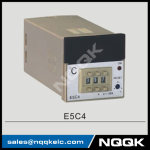 E5C4 48mm K J PT100 NO OFF Industrial Temperature Controller for plastic rubber packing machinery