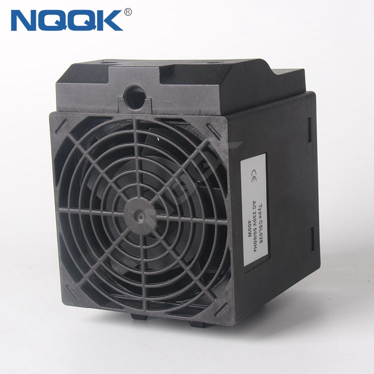 CSL028 150W , 250W , 400W Small Compact Semiconductor Clip Or Screw Fixing Fan Heater