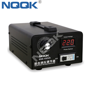 adjustable 0-220V thermostat 100A 10KW Solid state 220V single phase electronic SCR voltage regulator