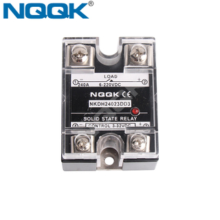 200A 240A Single Phase DC DC SSR Solid State Relay