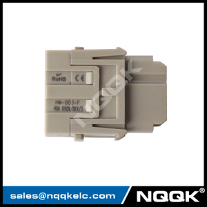 03800310210 HMK-003-F 09140032702 NQQK Waterproof 3 Pin Module Auto heavy duty Connector