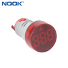 22mm 100A AC RED Single Phase LED Indicator Digital Electric Current Ammeter Indicator Lamp
