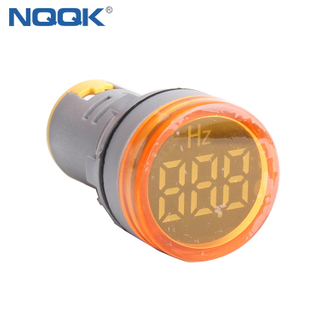 99 Hz Yellow 22 Mm Single Indicator Digital Frequency Meter