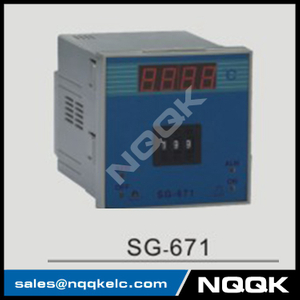 SG-671 96mm K J PT100 sensor adjustion Digital Industrial Temperature Controller