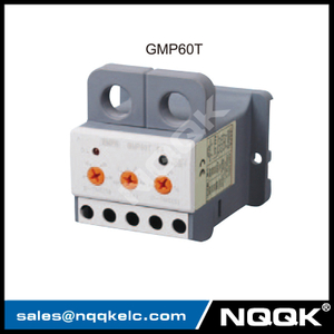 GMP60T small size economical electronic overload relay with screw or din rail mounting