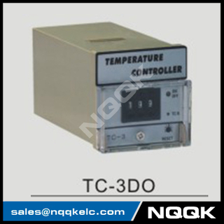 TC-3AO 72mm adjustion Digital Industrial Temperature Controller for plastic rubber packing machinery