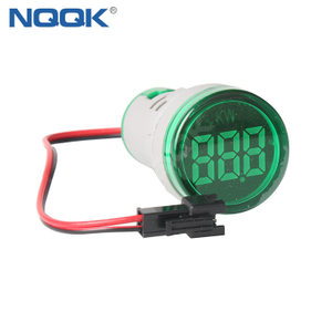 22mm 220VAC 26KW 380VAC 45KW Red Green LED Digital Indicator Lamp Power Meter